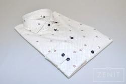 Camicia puro cotone - Collo FMR piccolo