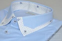 Camicia puro cotone - Particolare Mod. Flavio